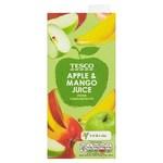 Tesco Apple and Mango Juice 1 Litre Carton