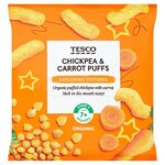 Tesco Carrot and Chickpea Puffs 20G