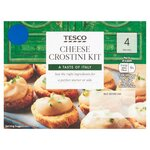 Tesco Cheese Crostini Kit 170g