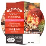 Tesco Cherry And Almond Sponge Pudding 115g
