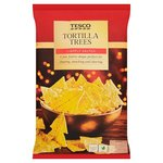 Tesco Christmas Lightly Salted Tortilla Trees 200G