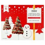 Tesco Christmas Tree Lollipop Kit 210G