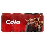 Tesco Cola 8 X 330ml Cans