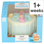Tesco Confetti Cake 18 Servings