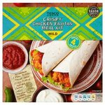 Tesco Crispy Chicken Fajita Kit 555g.