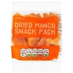 Tesco Dried Mango Snack Pack 40g