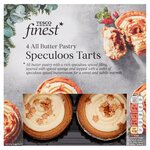 Tesco Finest 4 All Butter Pastry Speculoos Tarts