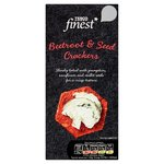 Tesco Finest Beetroot And Seed Crackers 150G