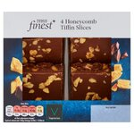 Tesco Finest Honeycomb Tiffin Slices 4 Pack