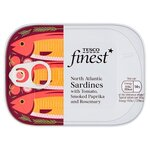 Tesco Finest Sardines In Tomato Paprika and Rosemary 105g