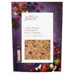 Tesco Finest Triple Belgian Chocolate And Berry Granola 500G