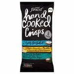 Tesco Finest Variety Hand Cooked Crisps 6 X 25g