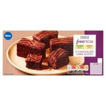 Tesco Free From 5 Chocolate Cake Slices