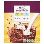 Tesco Free From Choco Snaps Cereal 300g