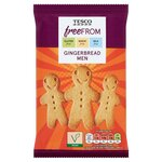Tesco Free From Gingerbread Men 154g