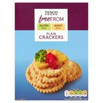 Tesco Free From Plain Crackers 125g