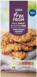Tesco Free From Stem Ginger Cookies 150G