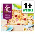 Tesco Free From Vanilla Tray Bake 8 Servngs