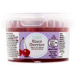 Tesco Glace Cherries 200g
