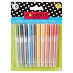 Tesco Go Create Mini Twist Up Crayons 10 Pack