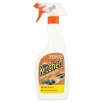 Tesco Kitchen Cleaner Plus Bleach Spray 500ml