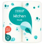 Tesco Kitchen Roll 2 per pack