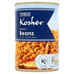Tesco Kosher Baked Beans in Tomato Sauce 420g
