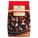 Tesco Lebkuchen Chocolate Hearts 250G
