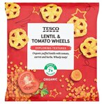 Tesco Lentil and Tomato Wheels 20g