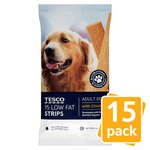 Tesco Low Fat Strips with Chicken 15 Pack