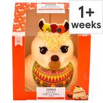 Tesco Lucky The Llama Celebration Cake 16 Servings