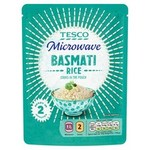 Tesco Microwave Basmati Rice 250g