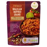 Tesco Microwave Brazilian Inspired Grains 250G