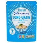 Tesco Microwave Long Grain Rice 250g