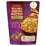 Tesco Microwave Red And White Quinoa And Bulgar Wheat 250G