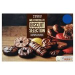 Tesco Milk Chocolate Biscuit Selection 450G