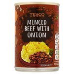 Tesco Minced Beef With Onion 392G