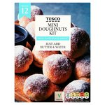 Tesco Mini Doughnuts Kit 165G