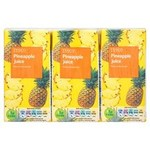 Tesco Pineapple Juice 3 X 200ml Cartons