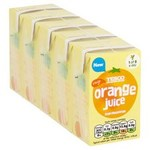 Tesco Pure Orange Juice 5 X 150ml Cartons