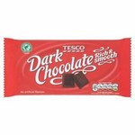 Tesco Rainforest Alliance Rich Plain Chocolate Bar 150G