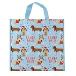 Tesco Santa Paws Shopping Bag