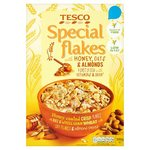 Tesco Special Flakes with Honey Oats And Almond 500G