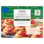 Tesco Tomato Crostini Kit 170g