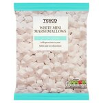 Tesco White Mini Marshmallows 100g
