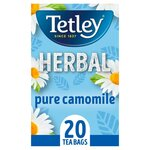 Tetley Herbal Pure Camomile 20 Teabags