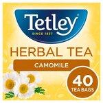 Tetley Herbal Tea Camomile 40 Teabags