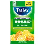 Tetley Super Green Tea Immune Lemon and Honey 20 Teabags