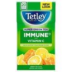 Tetley Super Green Tea Immune Lemon and Honey 20 Teabags