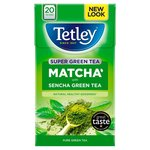 Tetley Super Green Tea Matcha Pure Green Tea 20 Tea Bags